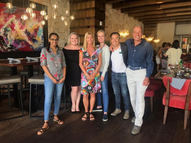 Selection Partners con su subagente de Chile (Michael Gutierrez) visitando Starboard en Miami.